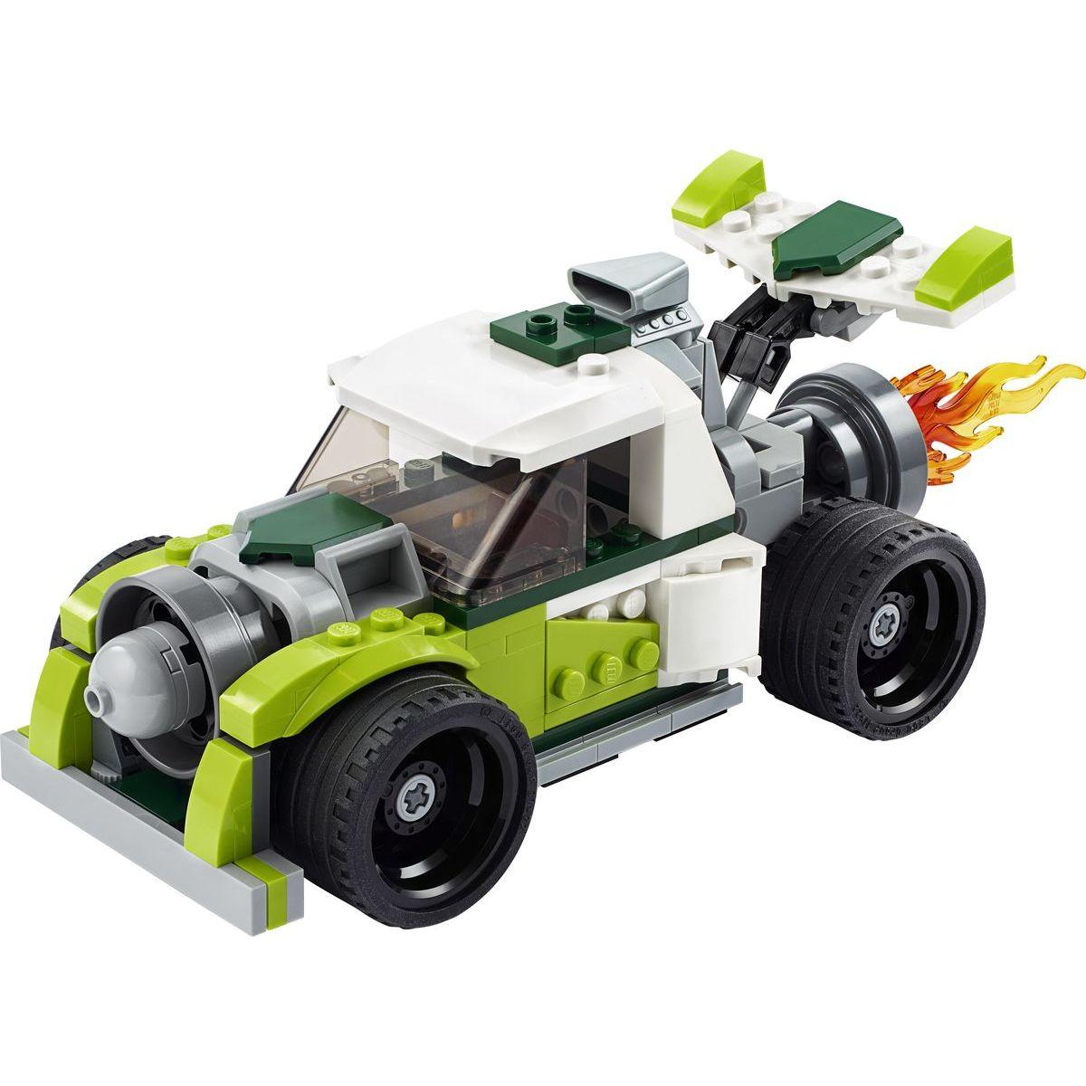 LEGO Creators 31103 Auto s raketovým pohonem