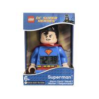 LEGO DC Super Heroes Superman Hodiny s budíkem 2