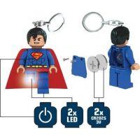 LEGO DC Super Heroes Superman Svítící figurka 5