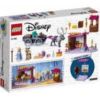 LEGO Disney Princess 41166 Elsa a dobrodružství s povozem 3