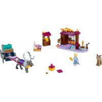 LEGO Disney Princess 41166 Elsa a dobrodružství s povozem