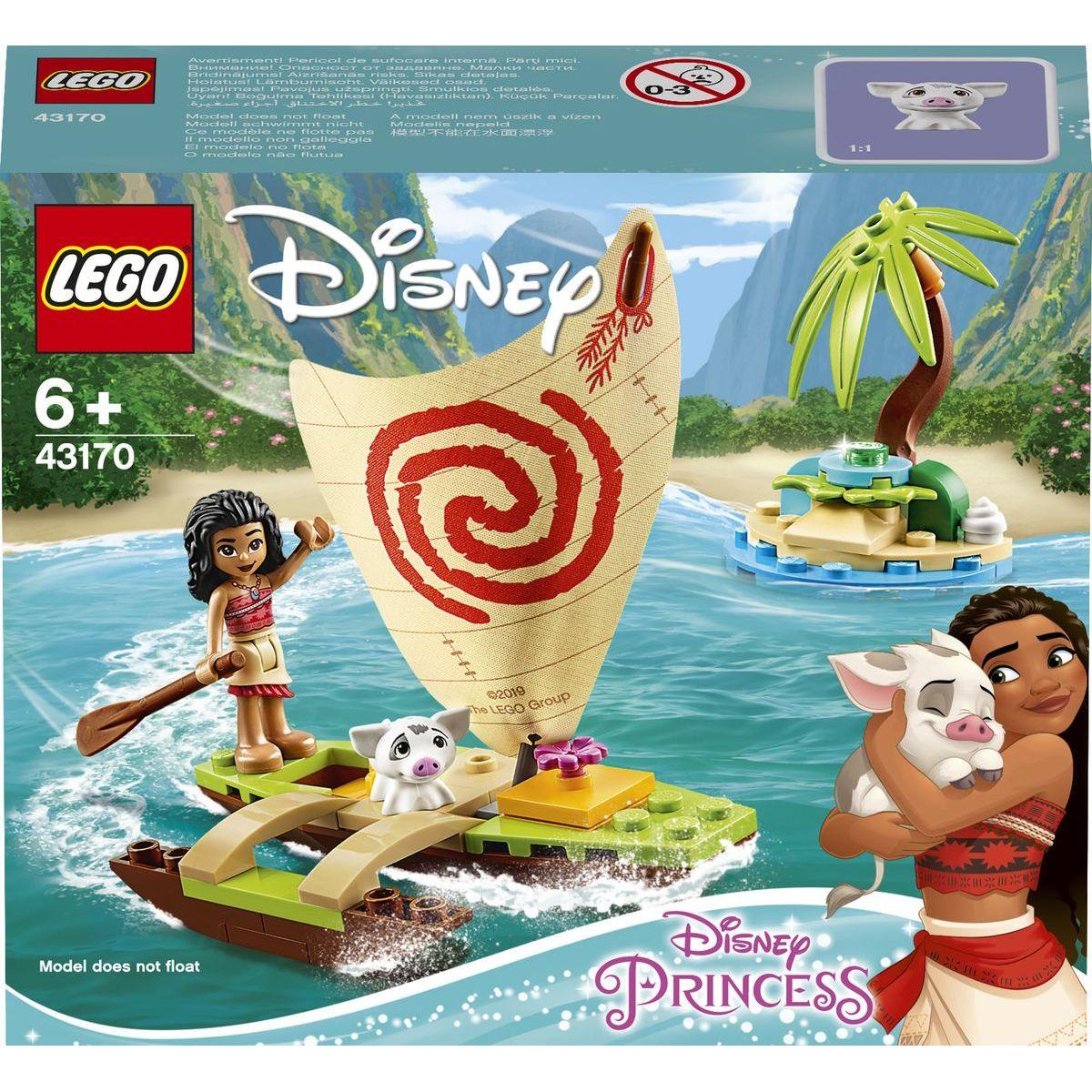 LEGO Disney Princess 43170 Vaianino oceánské dobrodružství