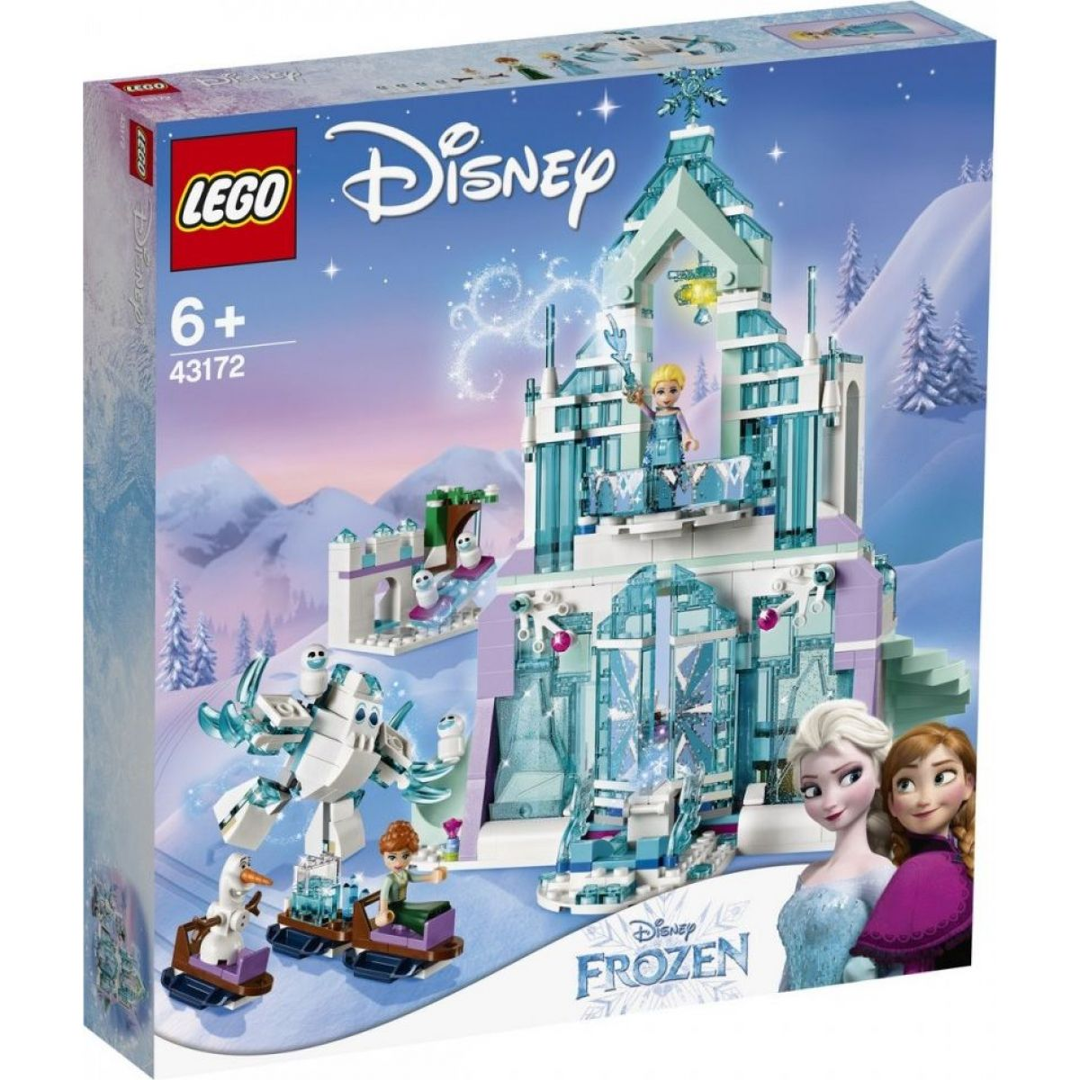 LEGO Disney Princess 43172 Elsa a její kouzelný ledový palác