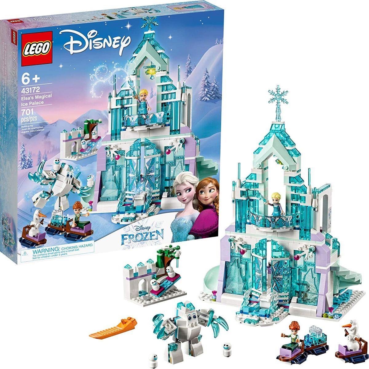 LEGO® I Disney Princess™ 43172 Elsa a jej čarovný ľadový palác