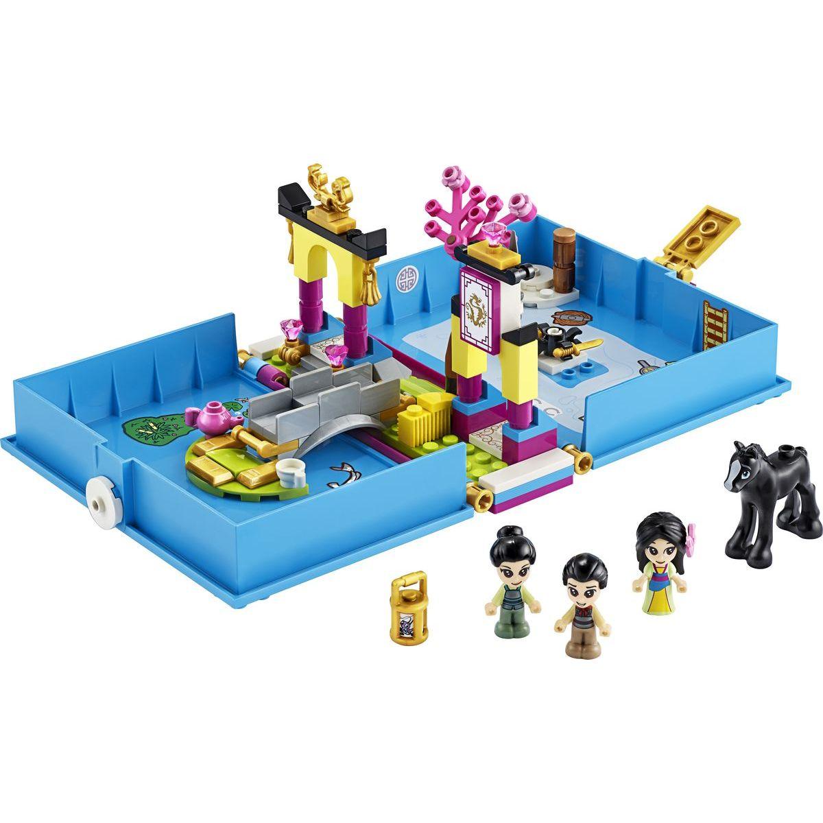 Lego Disney Princess 43174 Mulan a její pohádková kniha