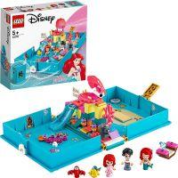 LEGO® I Disney Princess™ 43176 Ariel a její pohádková kniha dobrodružství