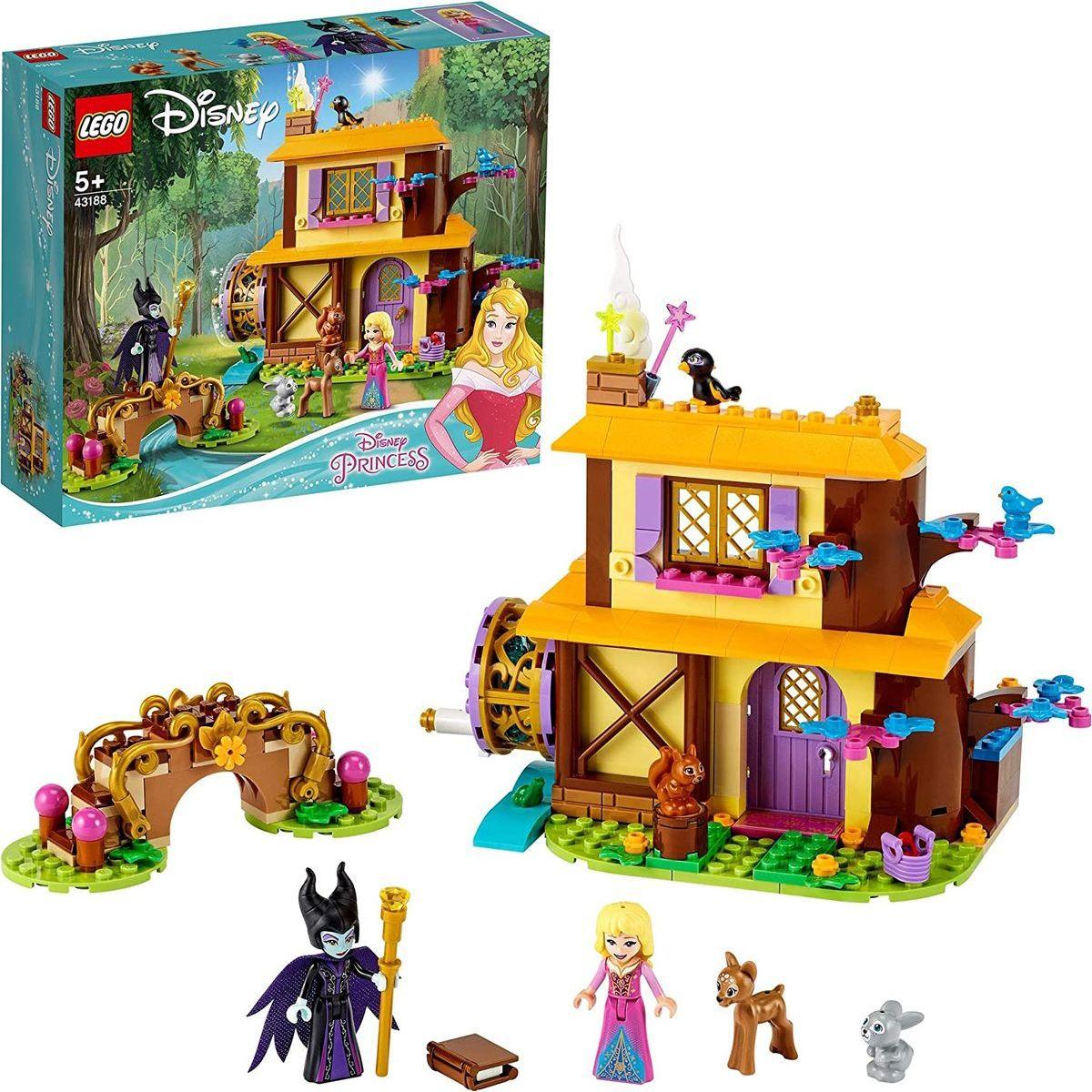 LEGO® I Disney Princess™ 43188 Šípková Ruženka a lesná chalúpka