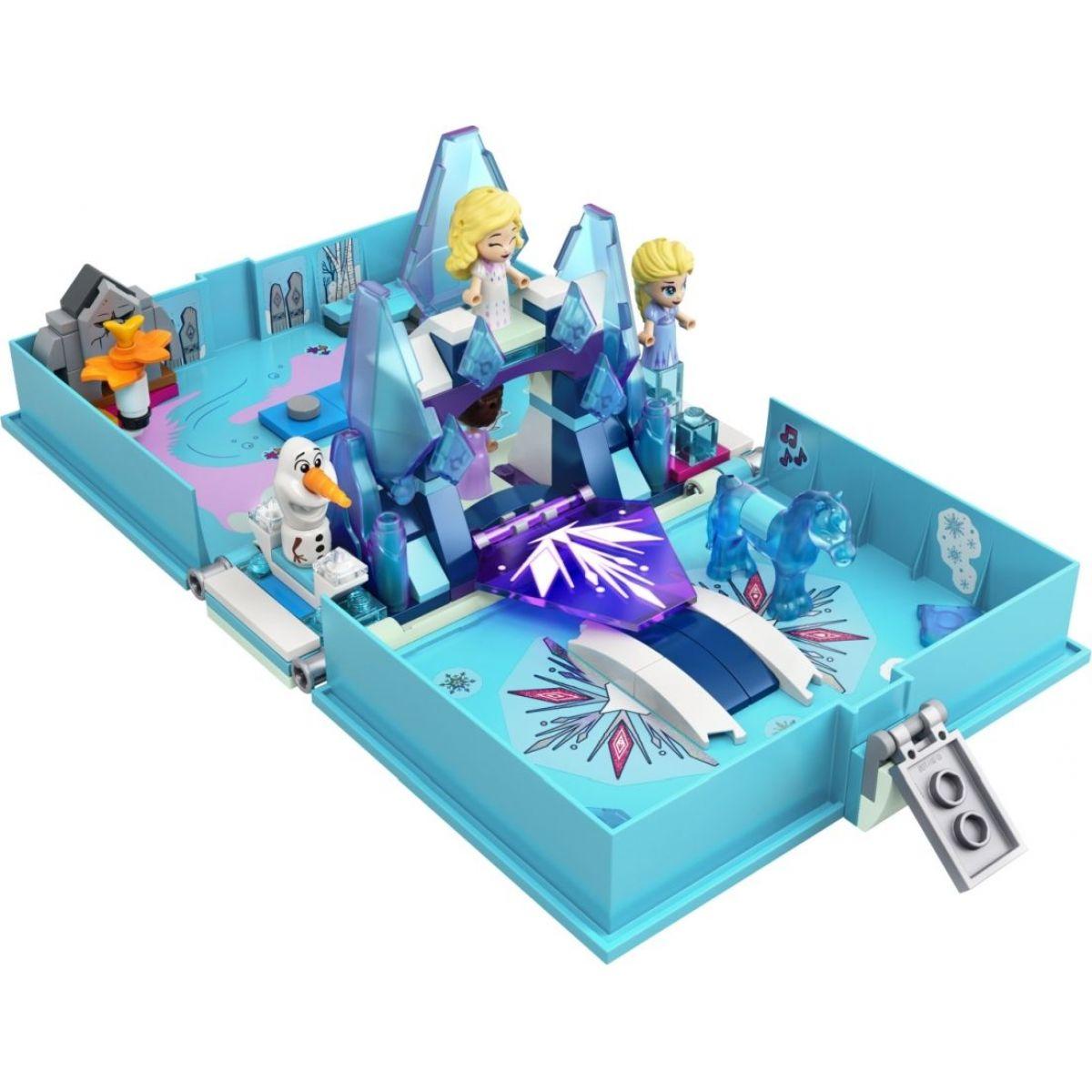 LEGO Disney Princess 43189 Elsa a Nokk a ich rozprávková kniha dobrodružstiev