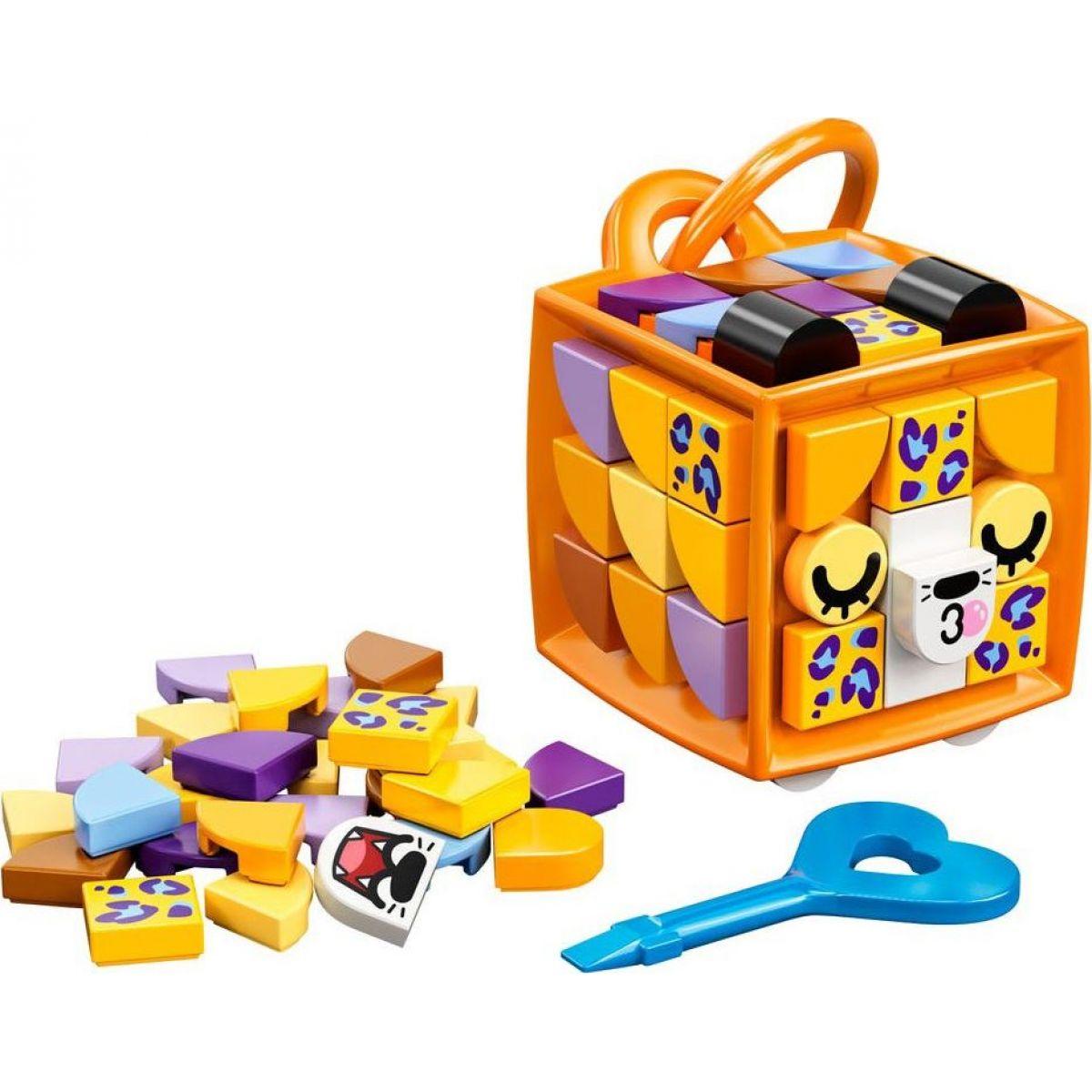 LEGO DOTS 41929 Ozdoba na tašku leopard
