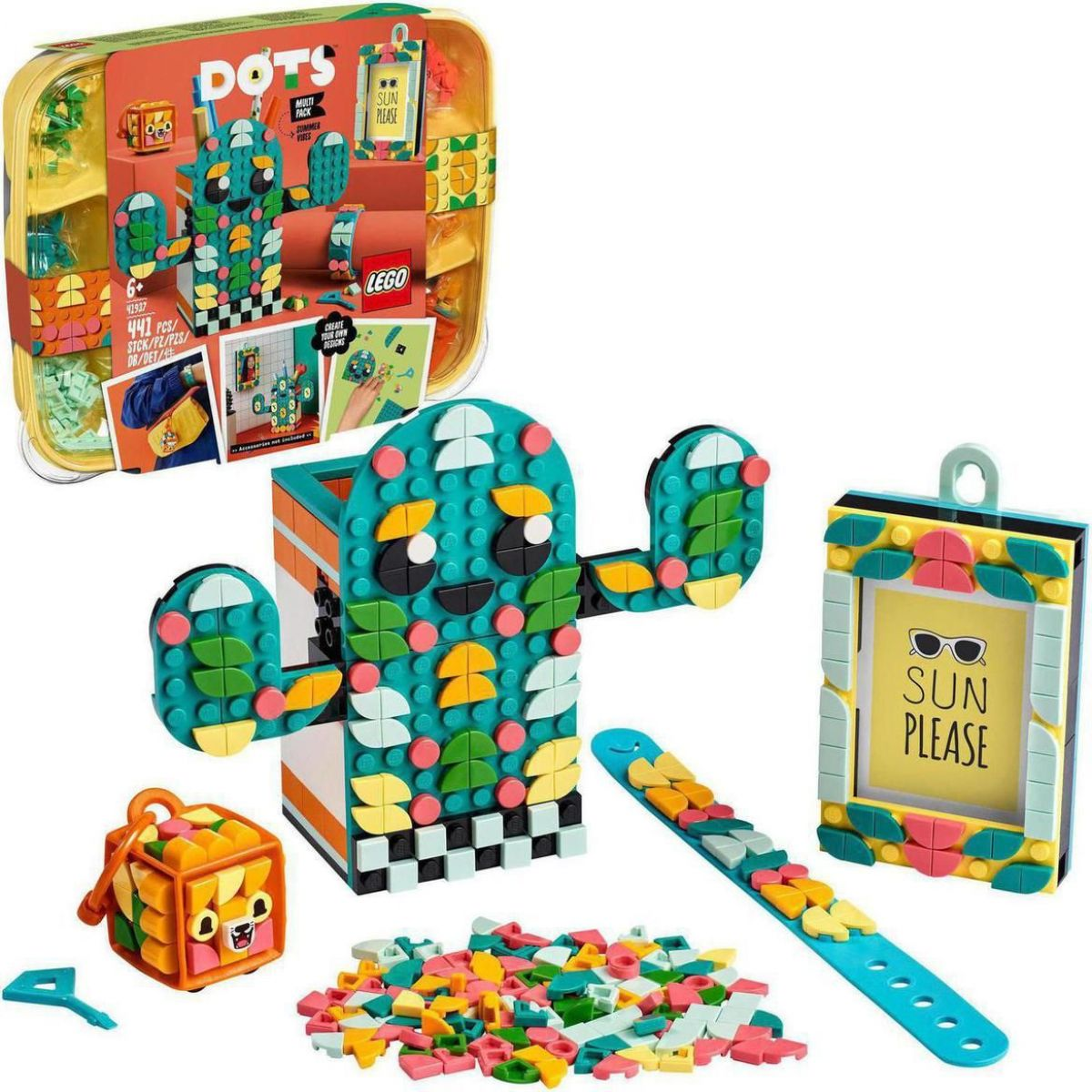 LEGO® DOTS 41937 Multipack Letná pohoda