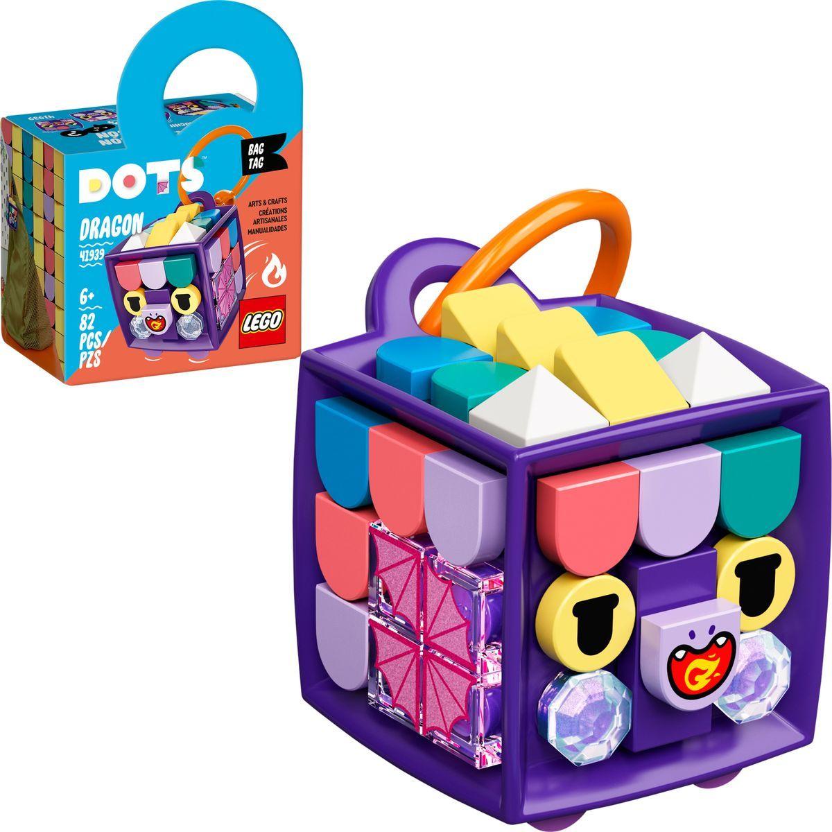 LEGO® DOTS 41939 Ozdoba na tašku Dráčik