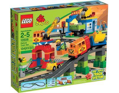 LEGO DUPLO 10508 Vláček deluxe - Poškozený obal