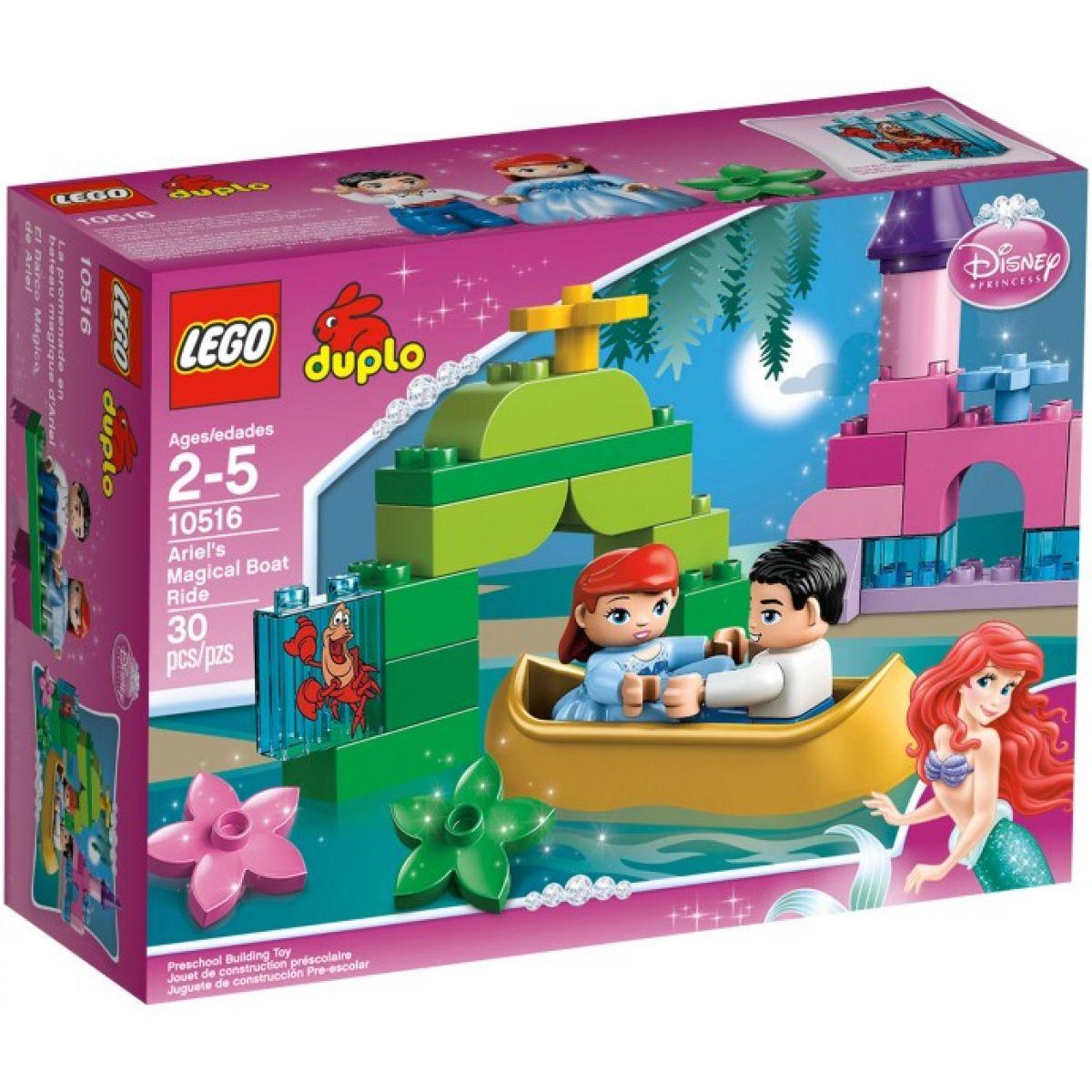 LEGO DUPLO Princezny 10516 - Ariel na výletě lodí