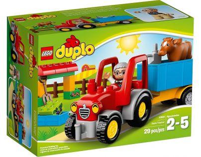 DUPLO LEGO Ville 10524 - Traktor
