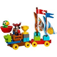 LEGO DUPLO Pirát Jake 10539 - Závody na pláži 6