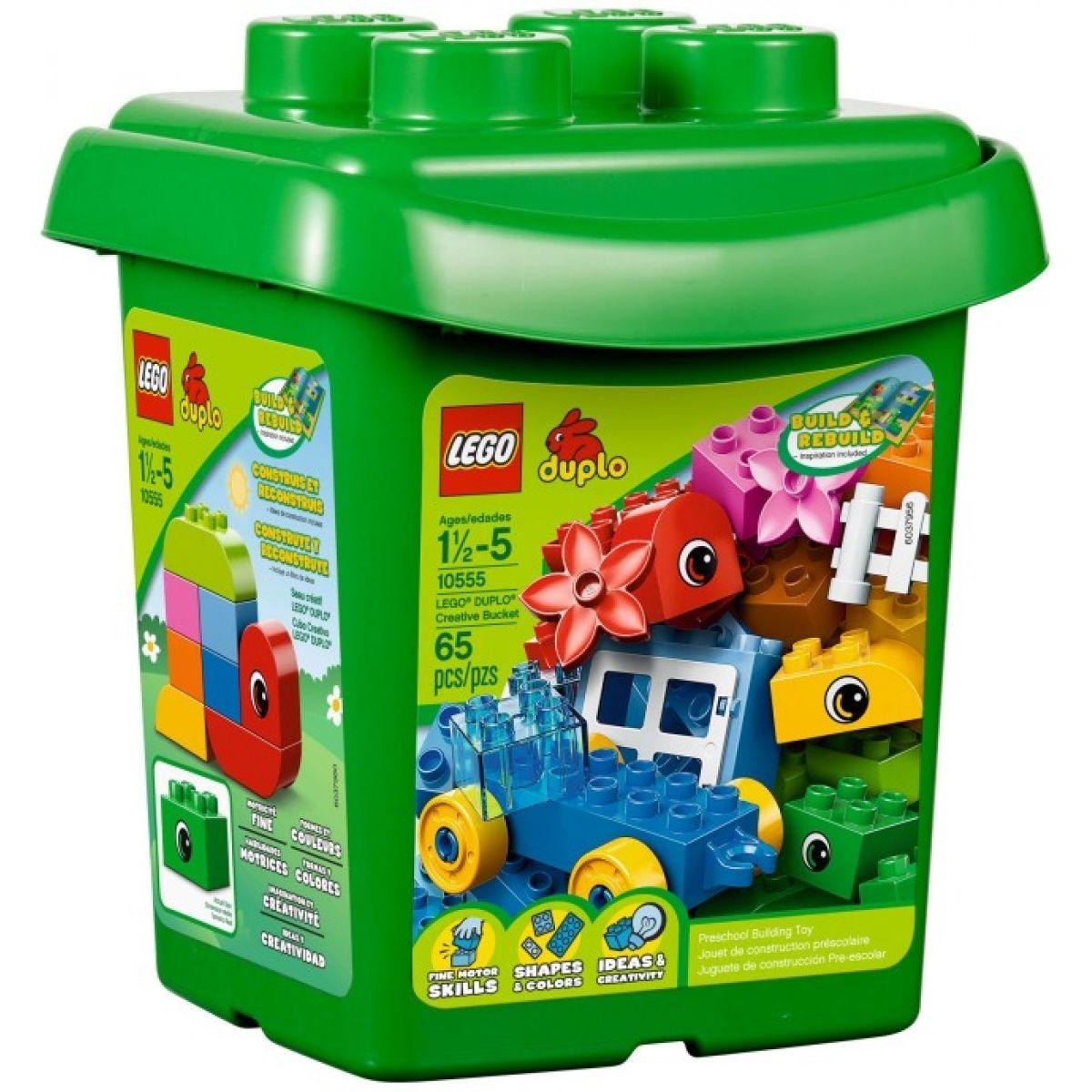 LEGO DUPLO 10555 - Tvořivý kyblík