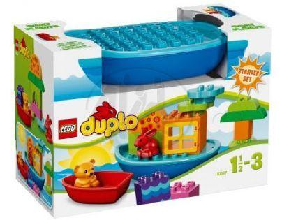 LEGO DUPLO Kostičky 10567 - Sada pro batolata - Postav si loďku