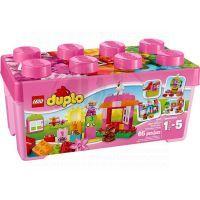 LEGO DUPLO Kostičky 10571 - LEGO® DUPLO® Růžový box plný zábavy
