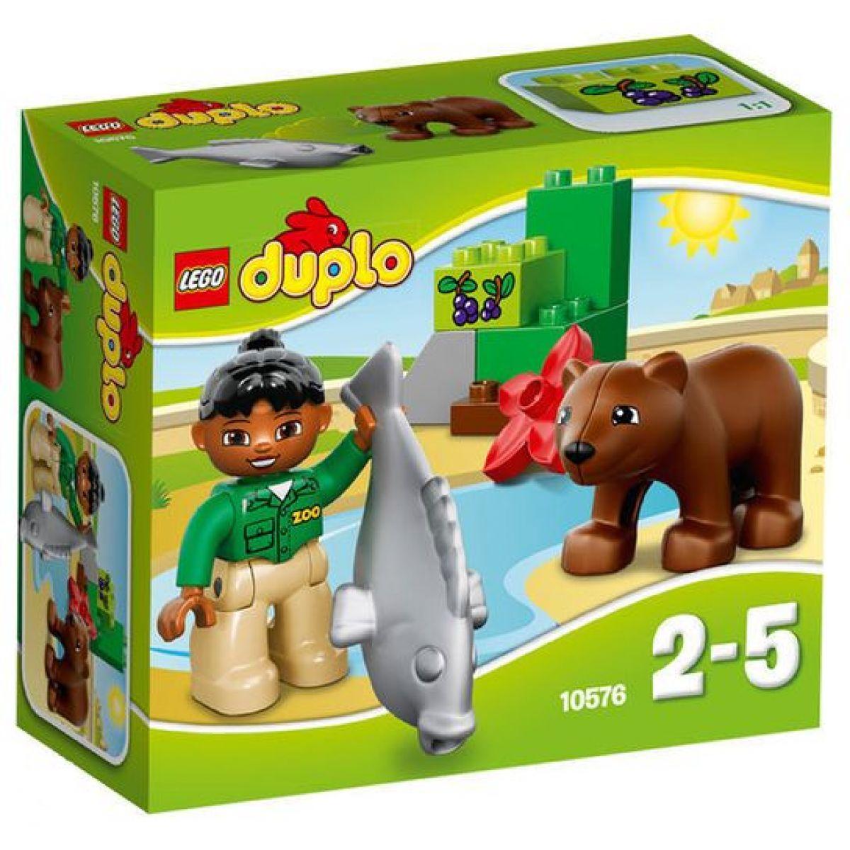 LEGO DUPLO 10576 Zoo - Poškozený obal