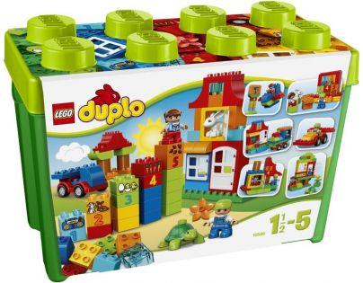 LEGO DUPLO Kostičky 10580 Zábavný box Deluxe