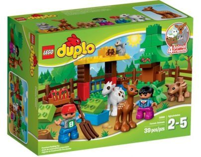 DUPLO LEGO Ville 10582 - Lesní zvířátka