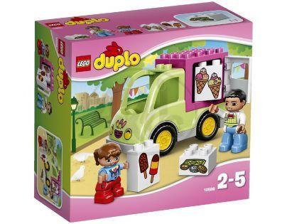 DUPLO LEGO Ville 10586 - Zmrzlinářská dodávka