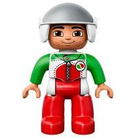 DUPLO LEGO Ville 10589 - Závodní auto 4