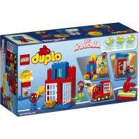 LEGO DUPLO 10608 Spidermanovo dobrodružství s pavoučím náklaďákem