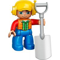 LEGO DUPLO 10812 Pásový bagr a náklaďák 6