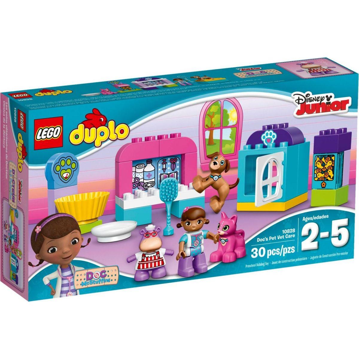 LEGO DUPLO 10828 Doktorka Plyšáková a veterinární klinika