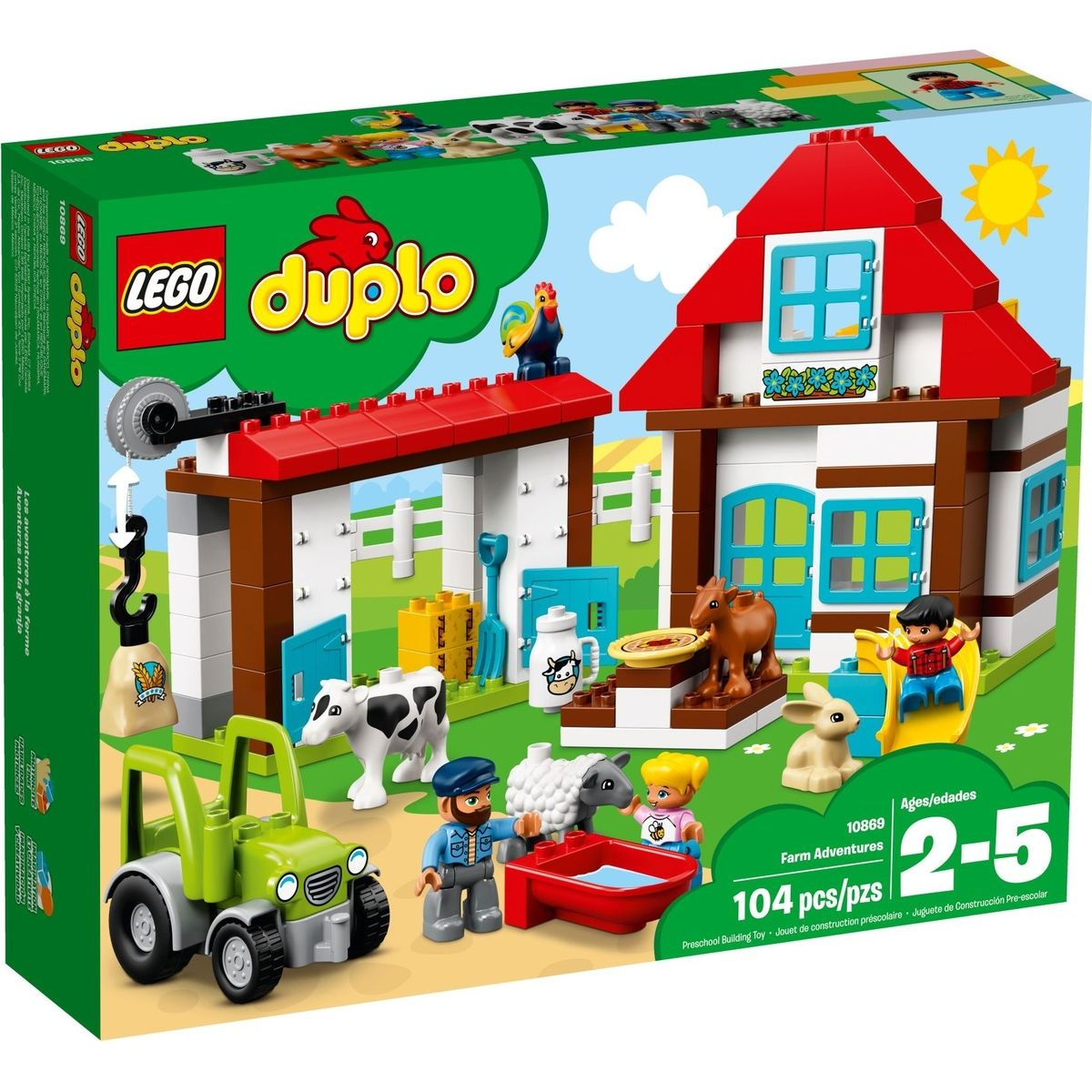 LEGO DUPLO 10869 Dobrodružství na farmě