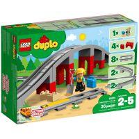 LEGO DUPLO 10872 Doplňky k vláčku Most a koleje