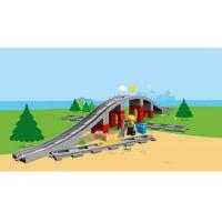 LEGO DUPLO 10872 Doplňky k vláčku Most a koleje 3