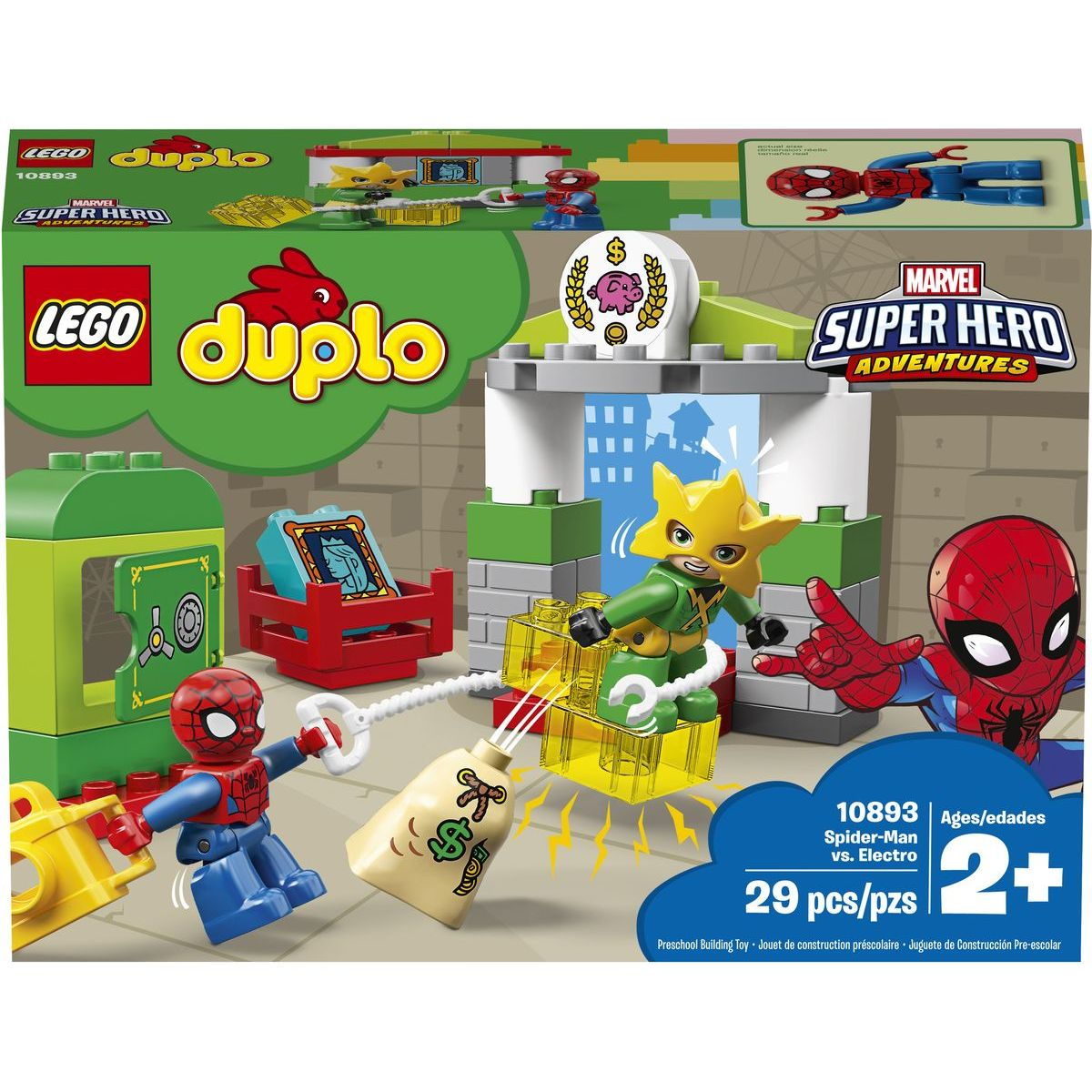 LEGO DUPLO 10893 Spiderman vs. Electro