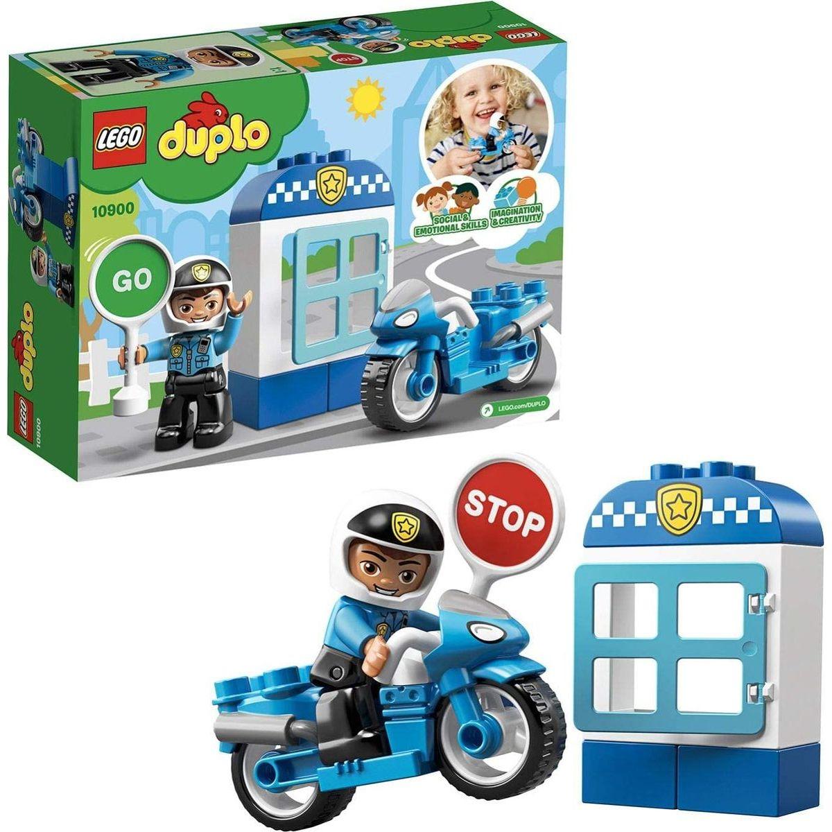 LEGO® DUPLO® 10900 Policajná motorka