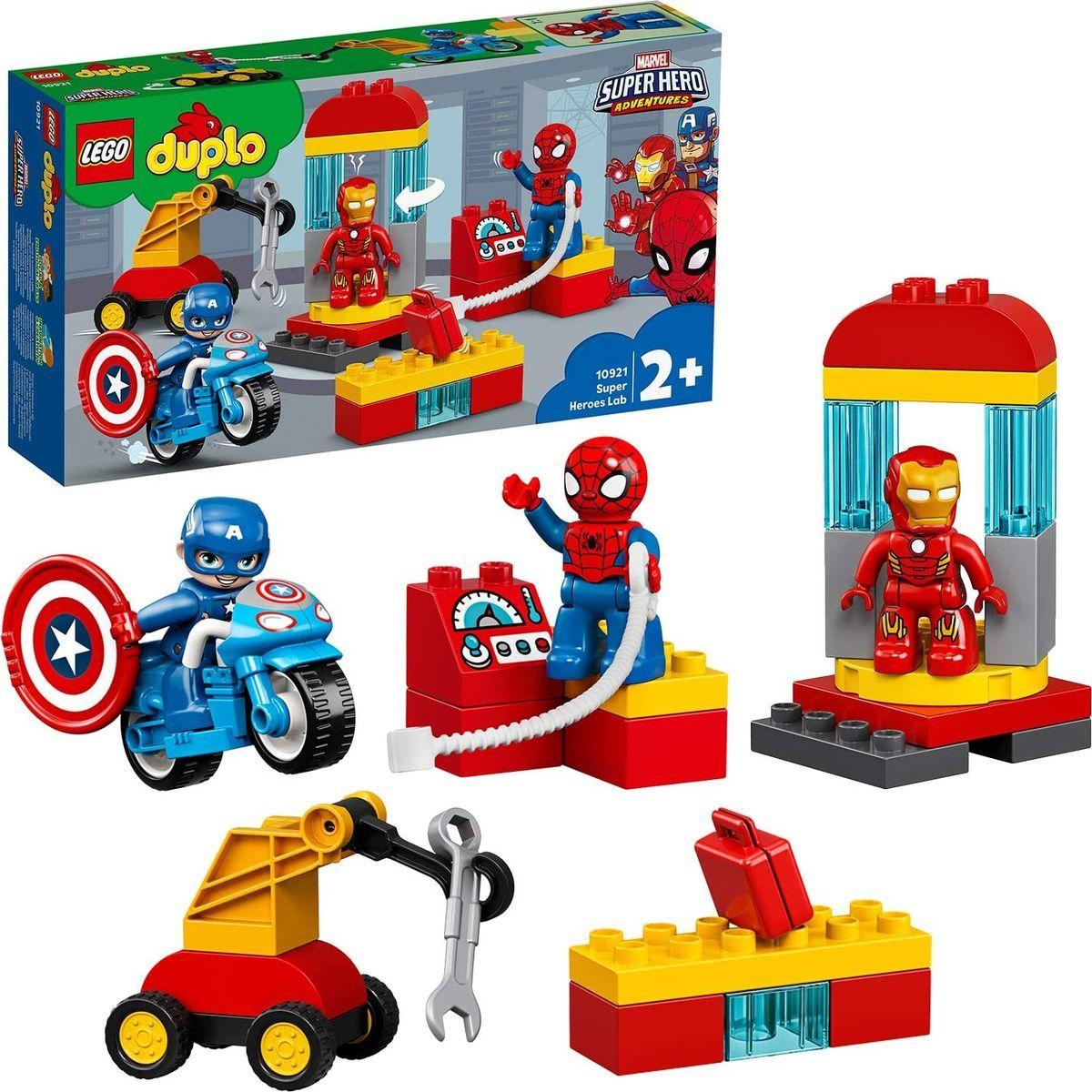LEGO® DUPLO® 10921 Laboratórium superhrdinov