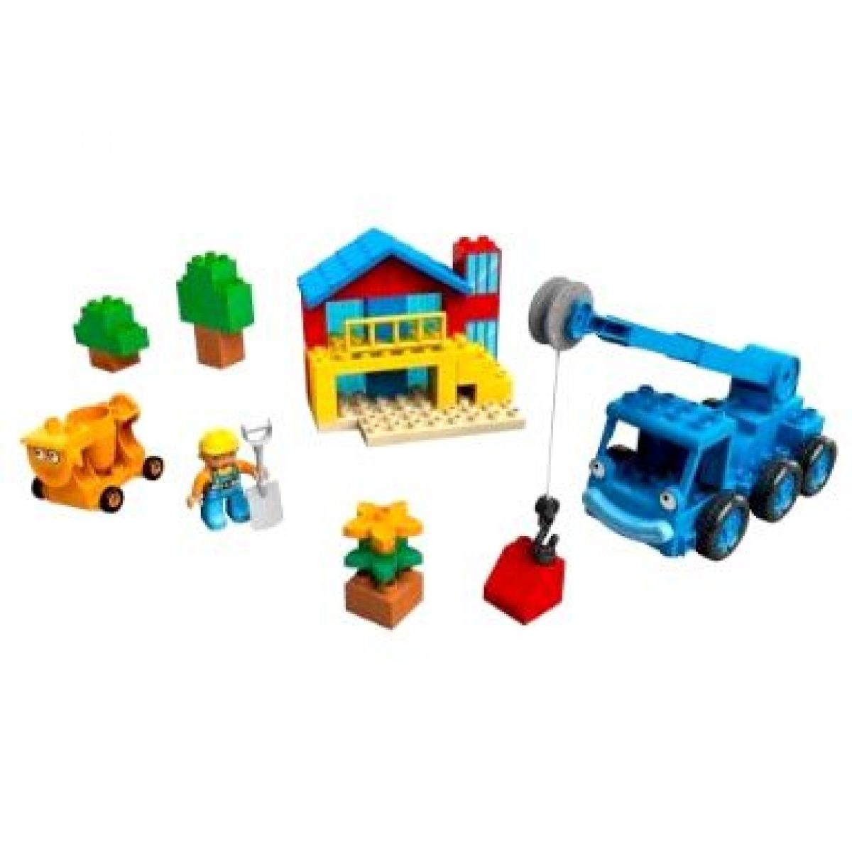 LEGO DUPLO 3597 - Lůďa a Julča při práci