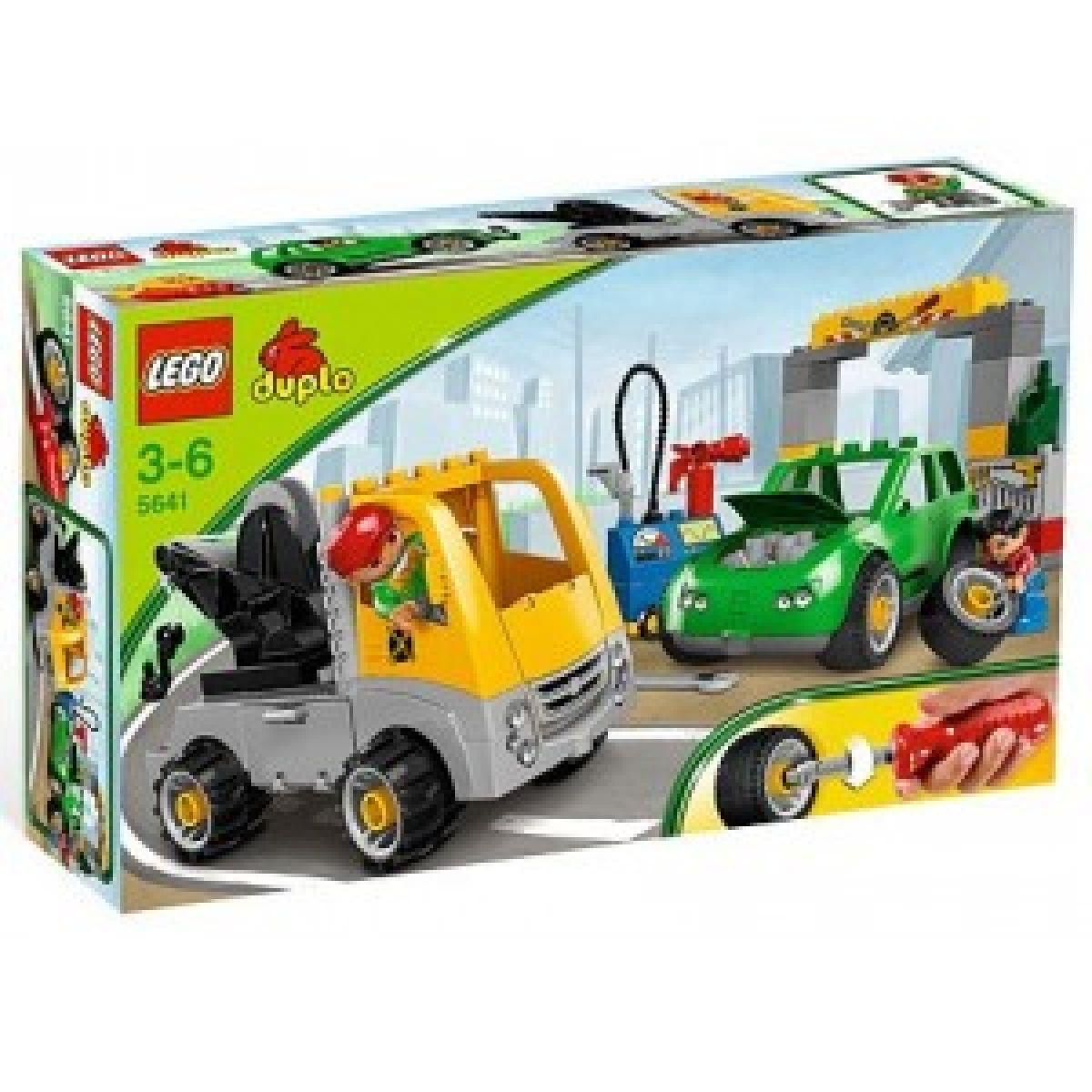 LEGO DUPLO 5641 Rušná autoopravna