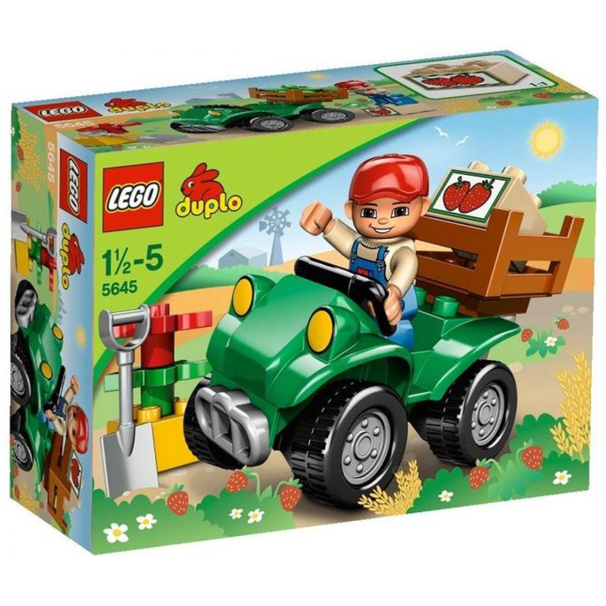 LEGO DUPLO 5645 Farmářova čtyřkolka