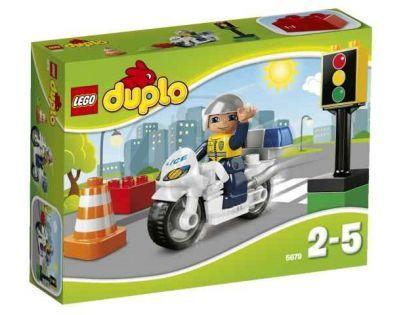 LEGO DUPLO 5679 Policejní motorka - Poškozený obal
