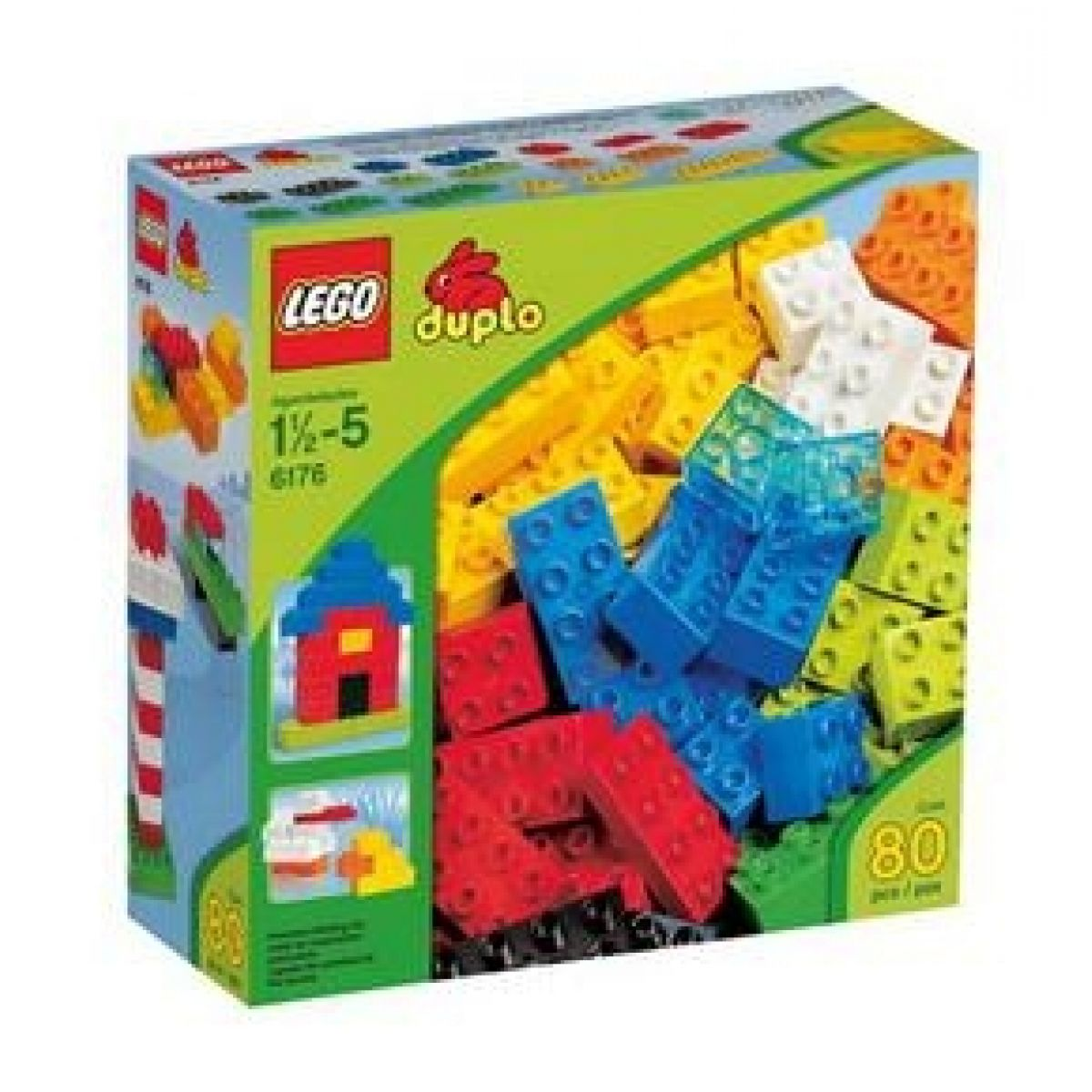 LEGO DUPLO 6176 Základní kostky sada Deluxe