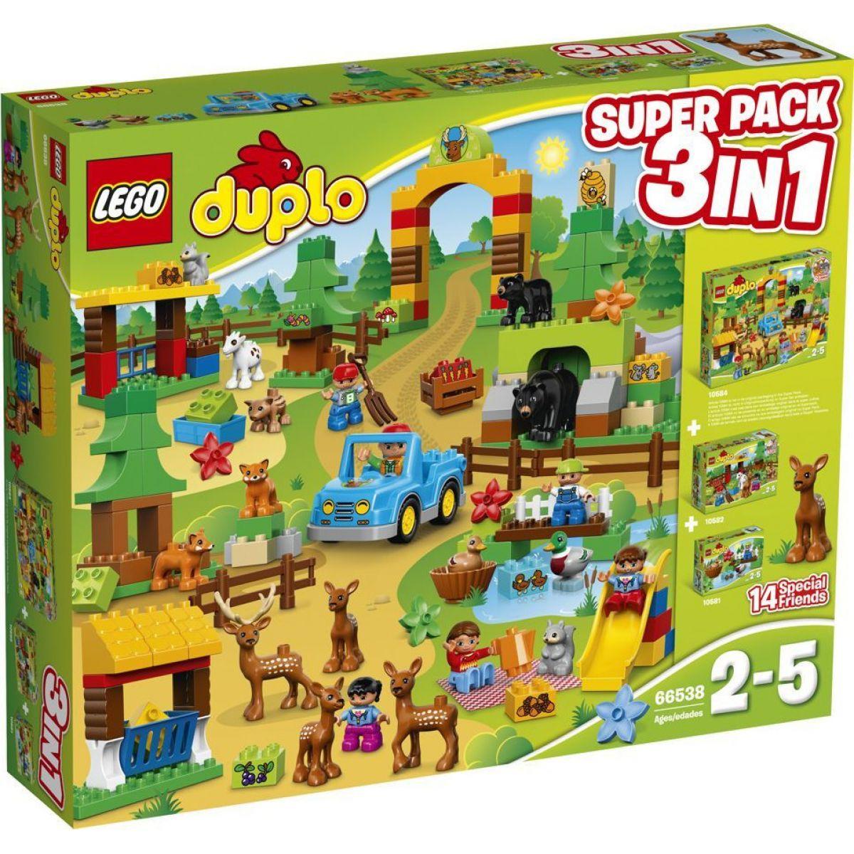 LEGO DUPLO 66538 Výhodné balení DUPLO lesopark