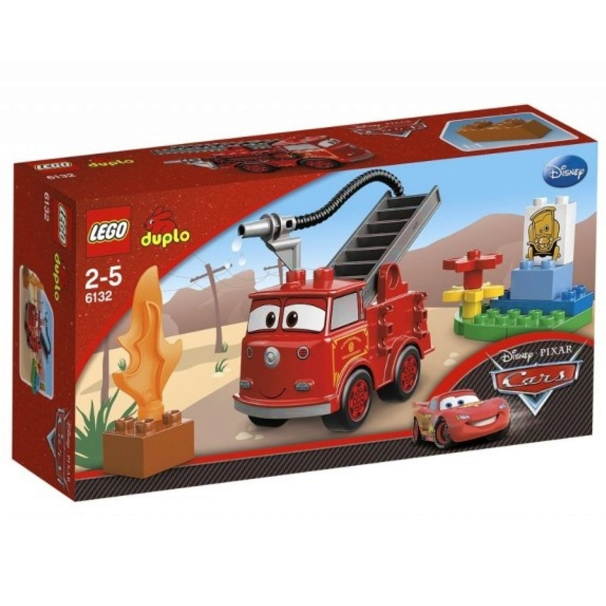 LEGO Cars 6132 - Hasičské auto