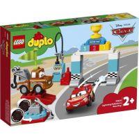 LEGO Duplo Cars TM 10924 Závodní den Bleska McQueena 2