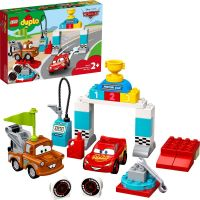 LEGO Duplo Cars TM 10924 Závodní den Bleska McQueena