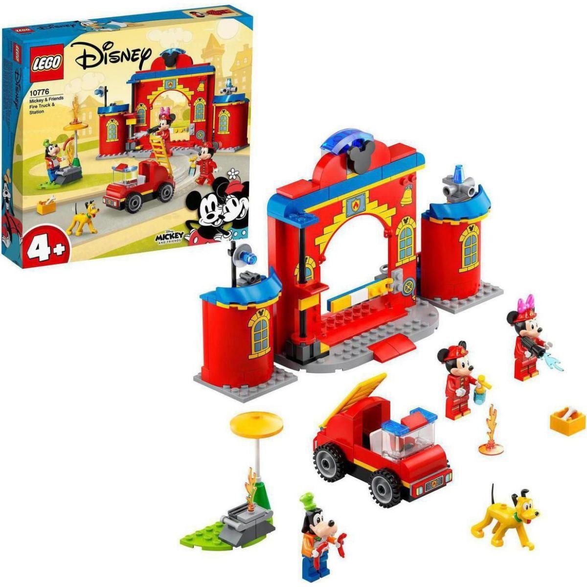 LEGO Disney 10776 Hasičská stanice a auto Mickeyho a přátel