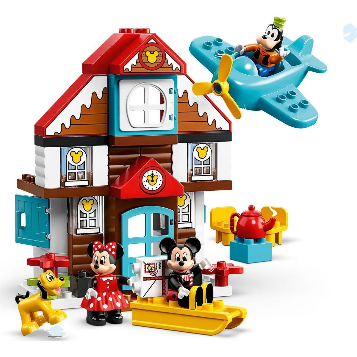 LEGO Duplo Disney 10889 TM Mickeyho prázdninový dům