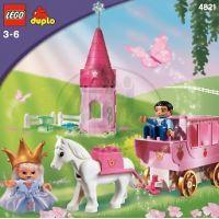 LEGO DUPLO Kočár s koněm pro princeznu