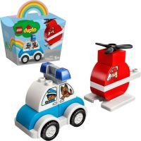 LEGO® DUPLO® My First 10957 Hasičský vrtulník a policejní auto