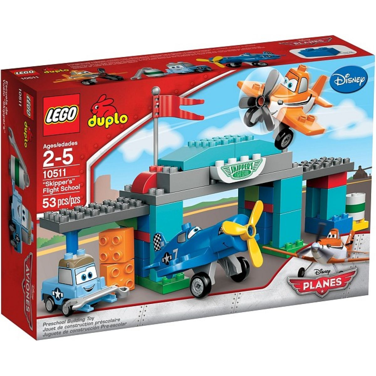 LEGO DUPLO 10511 Skipperova letecká škola